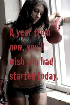 A year from now you'll wish you had started today